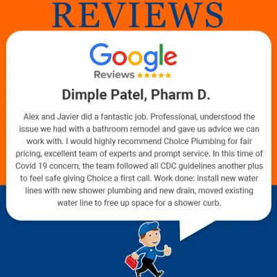 Choice Plumbing Orlando Reviews