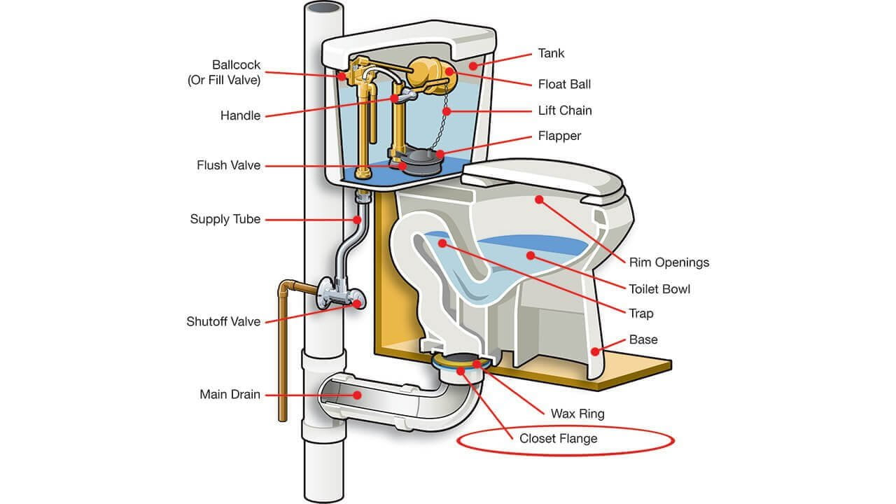 toilet leak repair, toilet clog rooter and toilet installation in Orlando, FL.